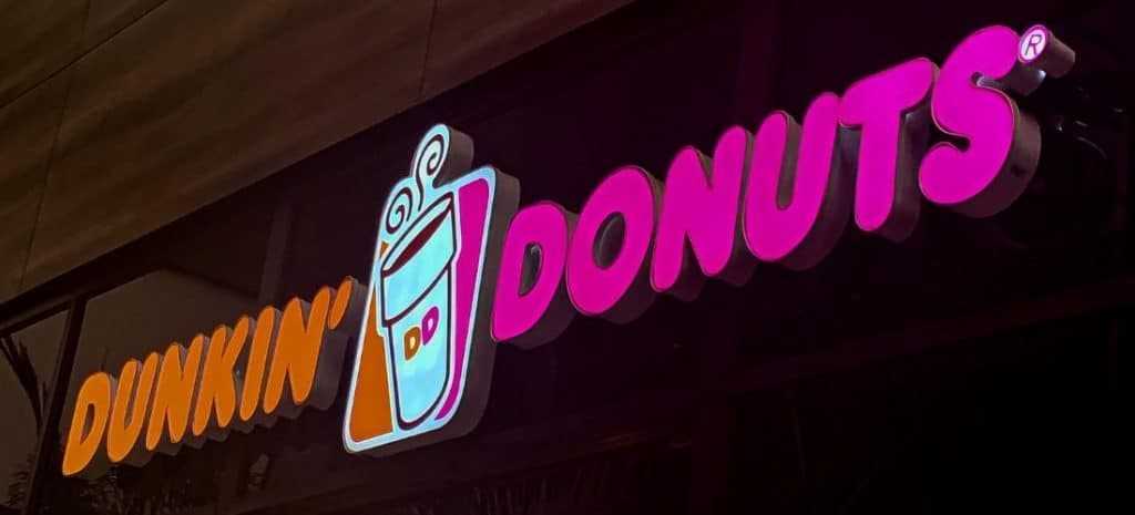 Is dunking donuts coffee organic